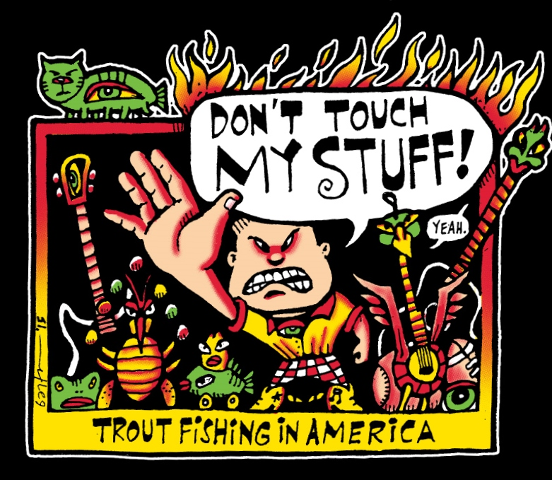 Don't Touch My Stuff! t-shirt